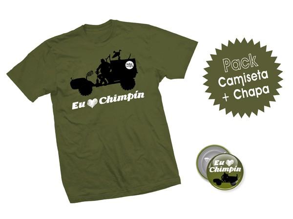 Pack Eu Chimpín - Adultos (Unisex)