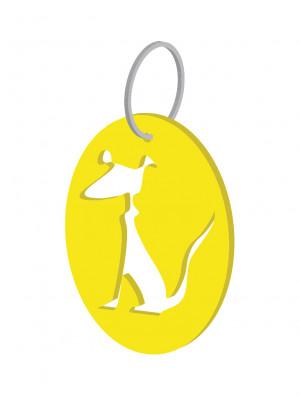 Chaveiro Medallón Can de Cans